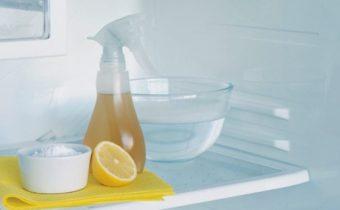 Убрать запах лимоном