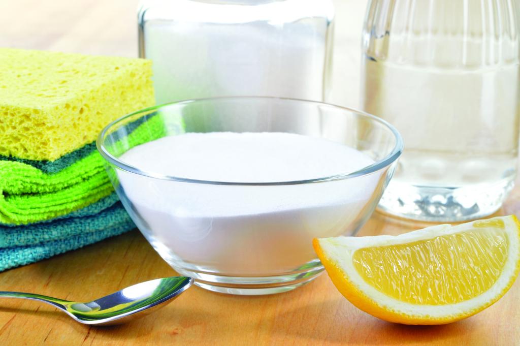 Почистить СВЧ лимонной кислотой