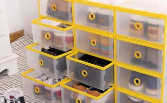 хранение обуви контейнеры