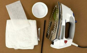 Почистить утюг