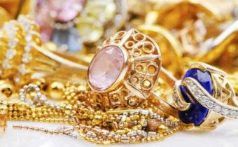 золото с камнями