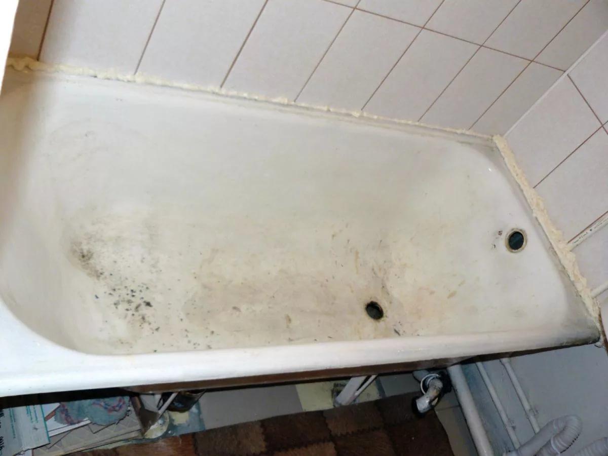 грязная ванна