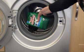чистим машинку содой