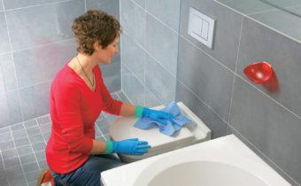 чистка туалета