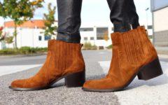 чистая обувь из замши