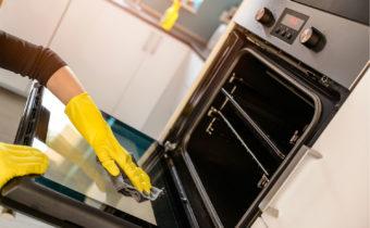 чистка духовка