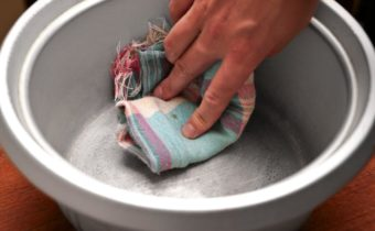 чистим аллюминиевую посуду