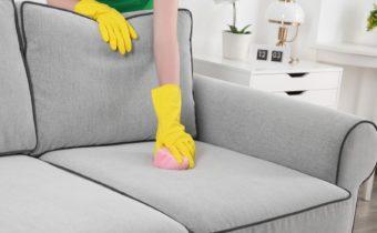 очищение дивана