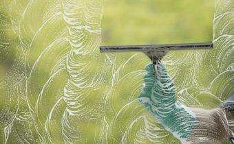 мытье стекла
