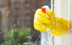 как вымыть окно