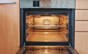 чистка электрической духовки