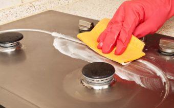 отмыть газовую плиту