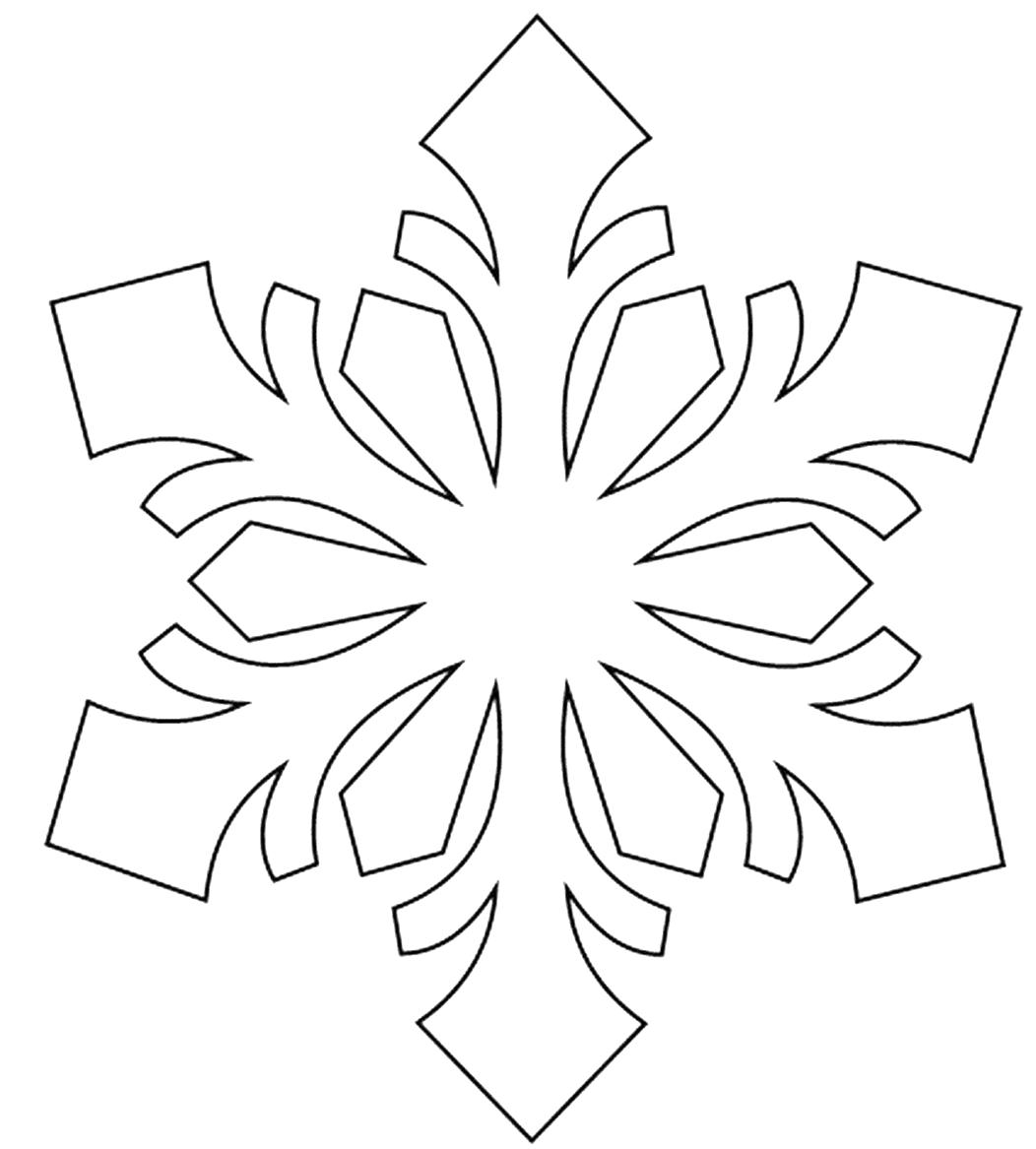 Снежинки фото картинки для вырезания