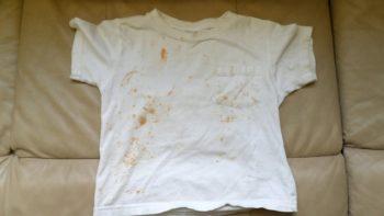 ржавчина на футболке