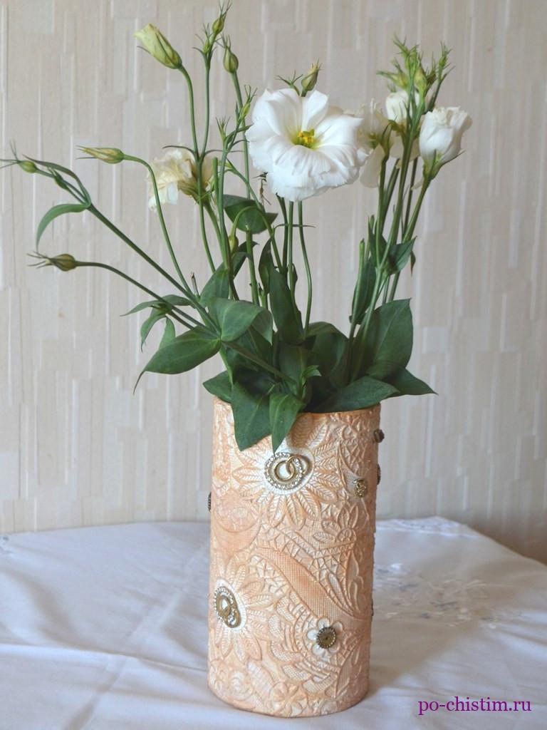 ваза своими руками