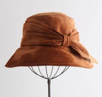 шляпа замшевая
