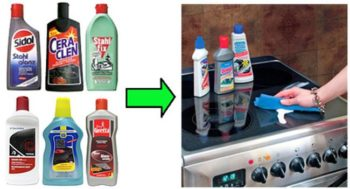 средства для чистки плит
