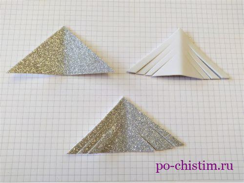 режем треугольники